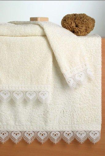 toallas de guipur