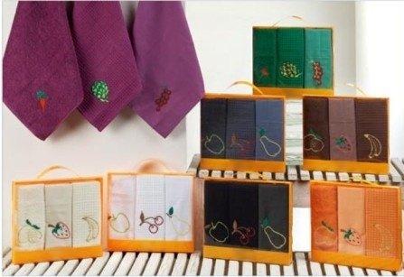 Paños de cocina: el textil indispensable