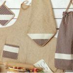 Bolsas de pan, vintage en la cocina