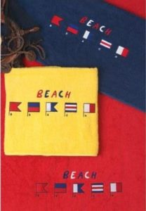 toallas de playa de publicidad