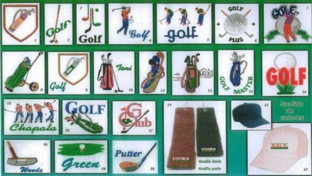 Toallas para golf