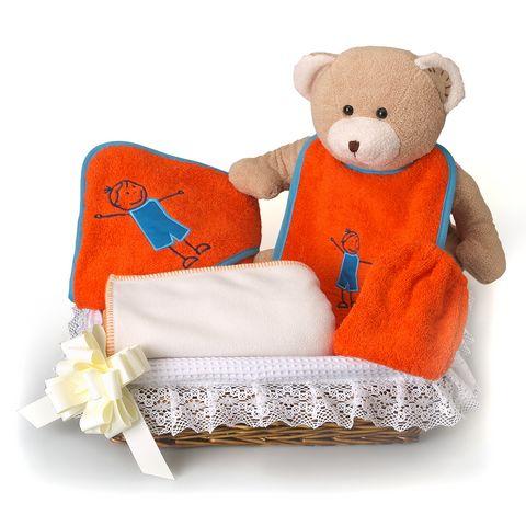 Manopla de bebe para bordar