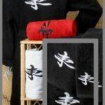 Toallas bordadas, regalo para Sant Jordi