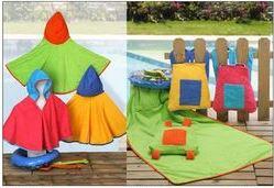Ponchos de playa para niños