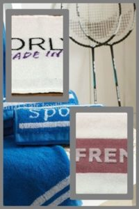 toalla personalizada jacquard
