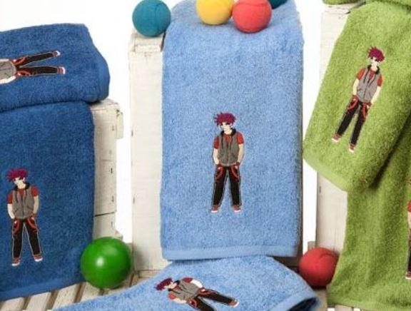 toallas de baño infantiles