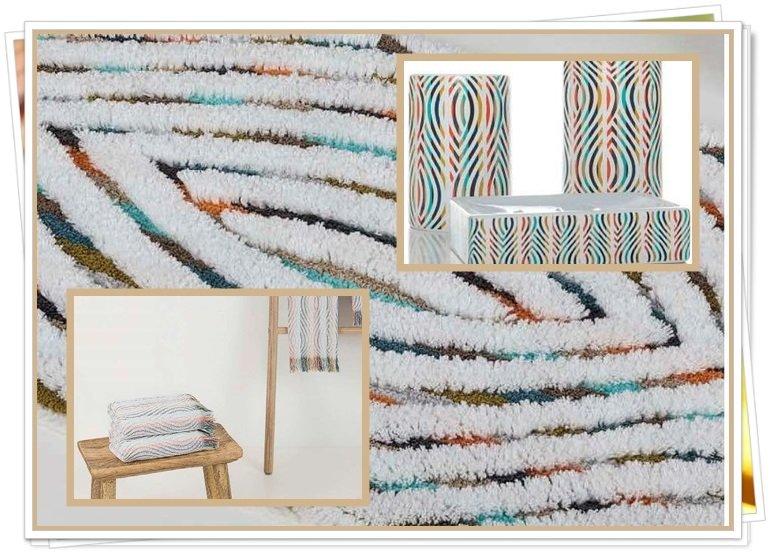 Toallas de baño decoradas