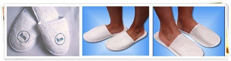 Zapatillas a juego para el baño