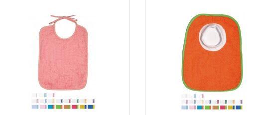Baberos plastificados